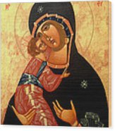 Virgin Of Vladimir Wood Print