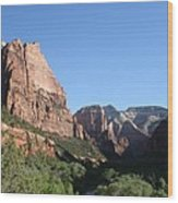 Virgin River View Wood Print