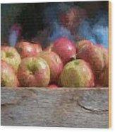 Virginia Apples Wood Print