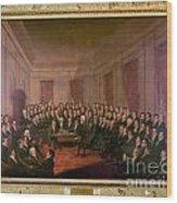 Virginia Convention 1829 Wood Print