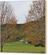 Virginia Fall Wood Print