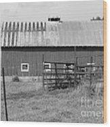 Virginia Farmland Wood Print