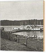 Virginia: Medical Ships Wood Print