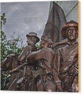 Virginia Memorial At Gettysburg Wood Print