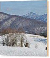 Virginia Mountain High Wood Print
