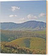 Virginia Mountains  Wood Print