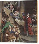 Virginia: Patrick Henry, 1765 Wood Print