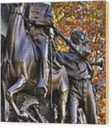 Virginia To Her Sons At Gettysburg - War Fighters - Band Of Brothers 1b Wood Print