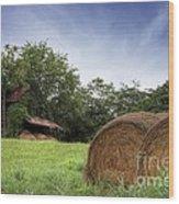 Virginia Tobacco Barn Wood Print
