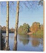Virginia Water Windsor Berkshire Uk  Wood Print