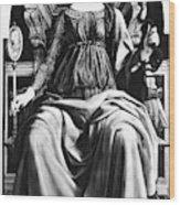 Virtues Prudence C1470 Wood Print