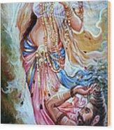Vishwamitra Menaka Wood Print