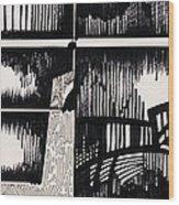 Vision Wood Print by Ayan  Ghoshal