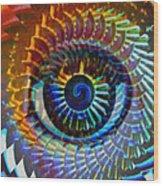 Visionary Wood Print by Gwyn Newcombe