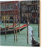 Visions Of Venice 4. Wood Print
