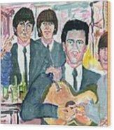 Visiting Elvis 1965 Wood Print