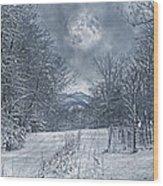 Visual Quiet Wood Print