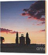 Vitaleta Chapel - Tuscany - Italy Wood Print