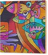 Viti Tolu - Fiji IIi Wood Print