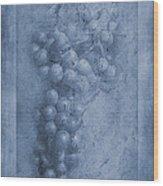 Vitis Cyanotype Wood Print