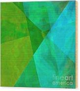 Vitreosity Wood Print by ME Kozdron