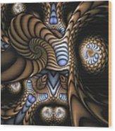 Vitreous Inanity Wood Print