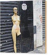 Viva O Meu Corpo - Sao Paulo Wood Print by Julie Niemela