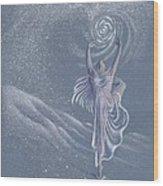 Vivaldi The Four Seasons Winter      Wood Print by Elizabeth Dobbs
