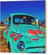 Vivid Dodge II Wood Print