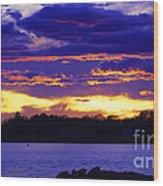 Vivid Skies Wood Print