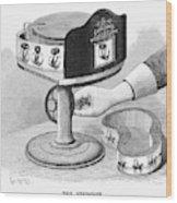 Viviscope, 1896 Wood Print