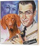 Vizsla Art Canvas Print - The Glenn Miller Story Movie Poster Wood Print