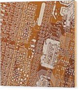 Vo96 Circuit 2 Wood Print
