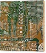 Vo96 Circuit 3 Wood Print