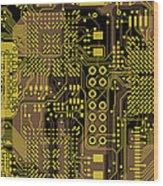 Vo96 Circuit 5 Wood Print