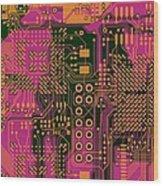 Vo96 Circuit 6 Wood Print