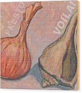 Voila Wood Print