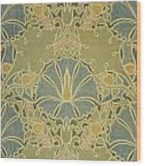 Voisey The Saladin Wood Print by William Morris