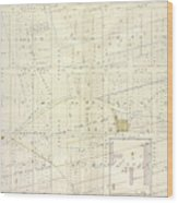 Vol. 1. Plate, N. Map Bound By Brooklyn Ave., City Line Wood Print