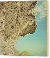 Volcanic Paradise Wood Print