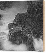 Volcanic Shoreline  C6j5985 Wood Print