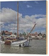 Volendam Wood Print