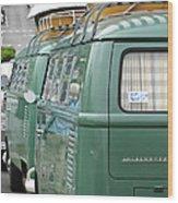 Volkswagen Vw Bus Wood Print
