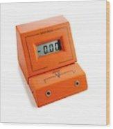 Voltmeter Wood Print