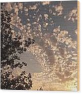 Volyn Sunset Wood Print