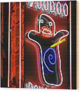 Voodoo Doughnuts Wood Print by Gail Lawnicki
