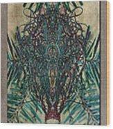 Voodoo Moss Wood Print
