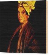 Voodoo Queen - Marie Laveau Wood Print