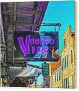 Voodoo Vibe Wood Print