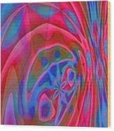 Voracious Wood Print